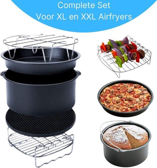 XYZ Goods - Heteluchtfriteuse Accessoires set XL en XXL  20 cm