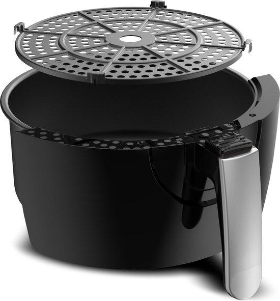 Turbotronic AF3D Digitale Airfryer - Heteluchtfriteuse - 3L - Zwart