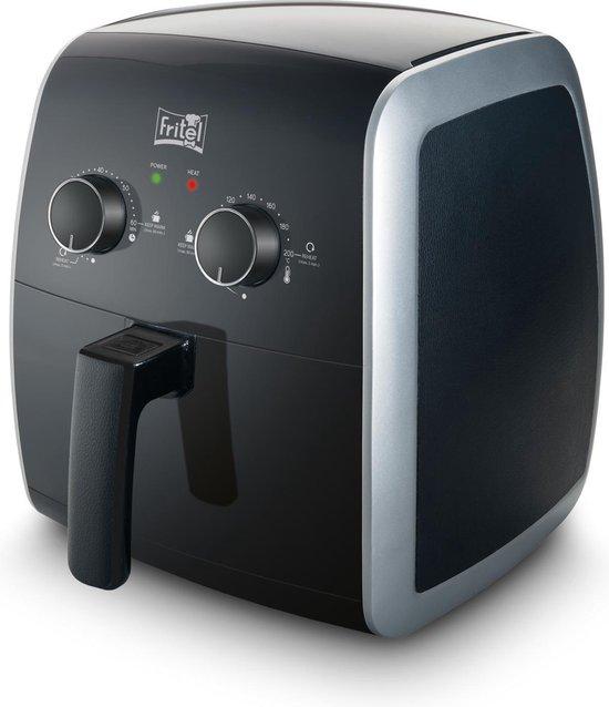 Fritel 5801 SnackTastic - Hetelucht friteuse 3.2L 1450W - Zwart/Grijs