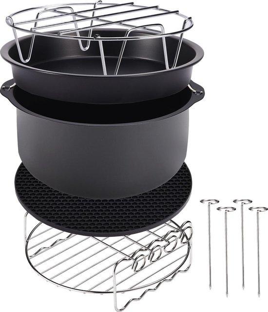 Deuba Airfryer accessoires - Geheel complete set- 9 stuks