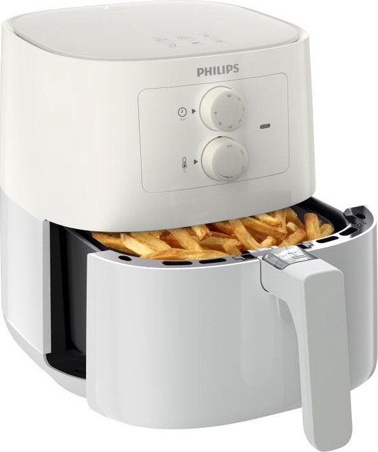 Philips Airfryer Essential HD9200/10 - Hetelucht friteuse - Wit