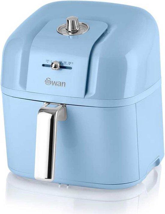 Swan Retro Heteluchtfriteuse - Blauw - 6 Liter