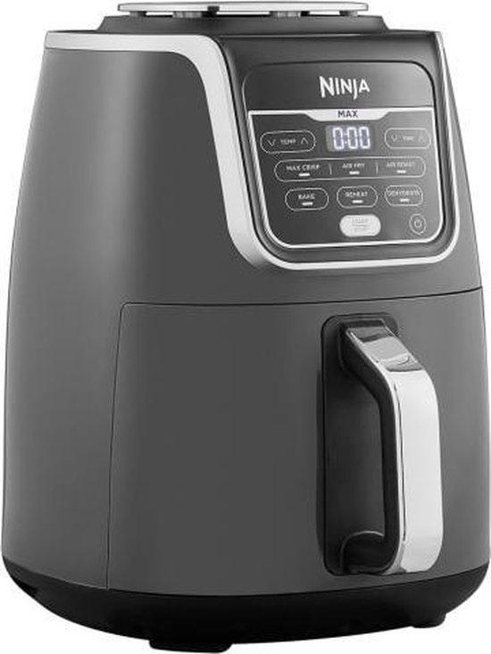 Ninja AF160EU - Multifunctionele Hetelucht Friteuse - 5,2 liter - Grijs/Zwart