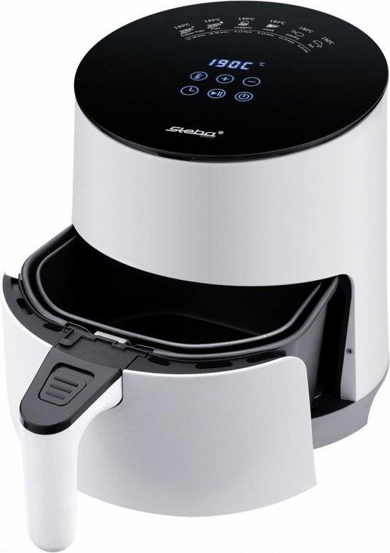 - Steba HF1000 - Heteluchtfriteuse - 3,5L - Wit/Zwart