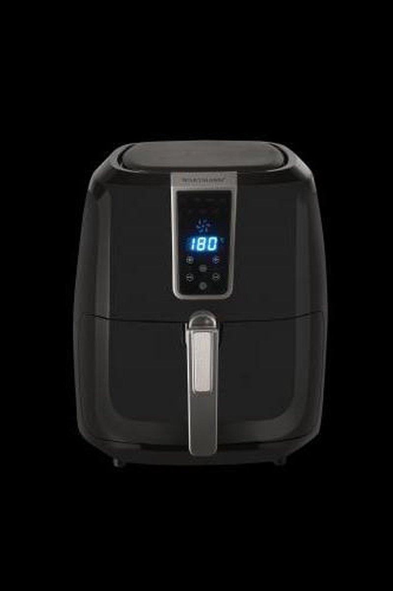 Hetelucht friteuse 5,5 Liter Zwart - Wartmann